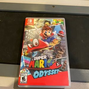 Super Mario Odyssey for Switch- barely used!!!!